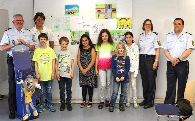 Gewinnerinnen und Gewinner des Polizeipräsidiums Ulm