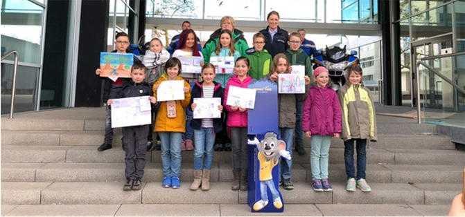 Gewinnerinnen und Gewinner des Polizeipräsidiums Ludwigsburg