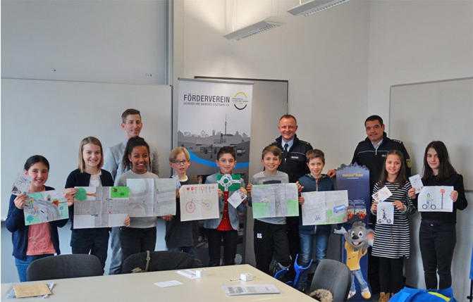 Gewinnerinnen und Gewinner des Polizeipräsidiums Stuttgart
