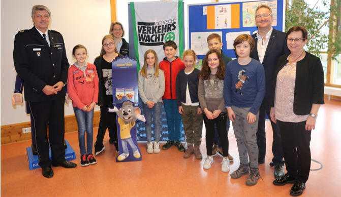 Gewinnerinnen und Gewinner des Polizeipräsidiums Offenburg