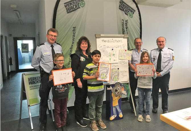Gewinnerinnen und Gewinner des Polizeipräsidiums Karlsruhe (Standort Pforzheim-Calw)