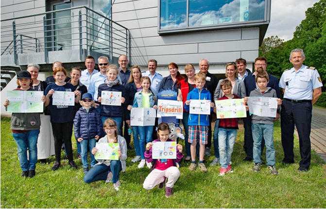 Gewinnerinnen und Gewinner des Polizeipräsidiums Heilbronn