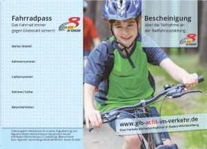 Fahrradpass Jungen
